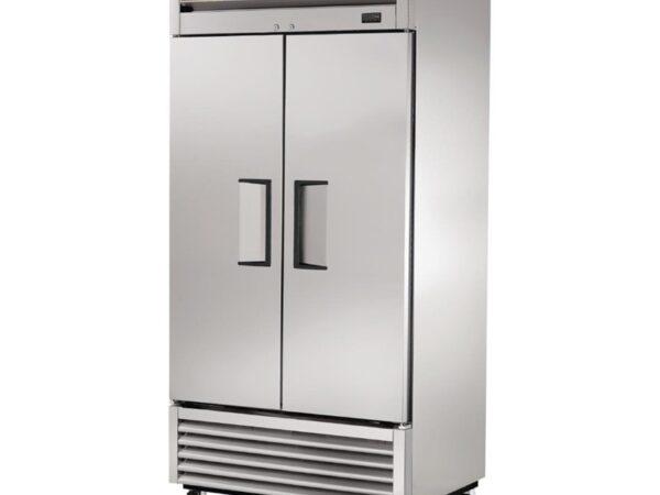Armoire réfrigérée positive 2 portes inox True 991L T-35-HC-LD