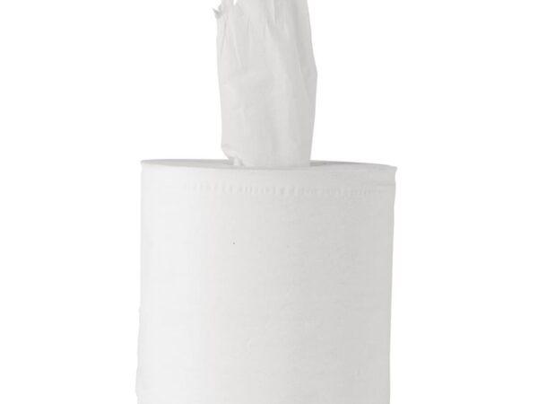 Bobines de papier d'essuyage pour distributeur à dévidage central Tork x6 blanches