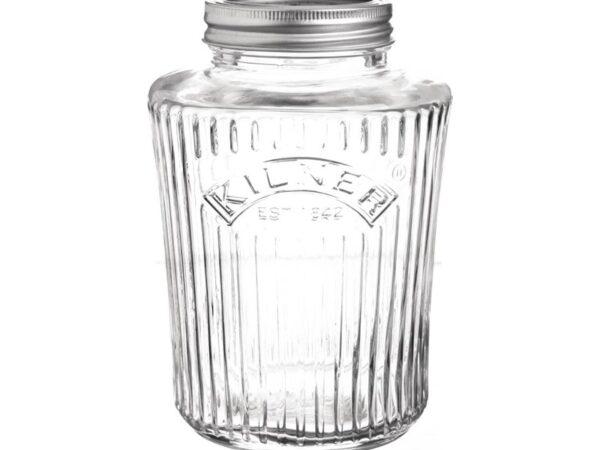 Bocal hermétique vintage Kilner 1L